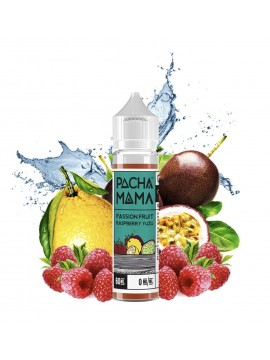 Pachamama E-Liquid - Passion Fruit Raspberry Yuzu - 60 ml
