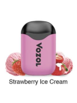 Vozol D5 strawberry ice cream
