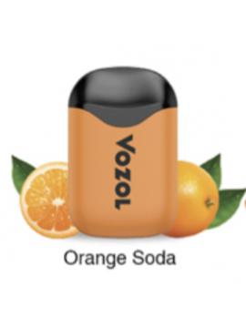 Vozol D5 orange soda