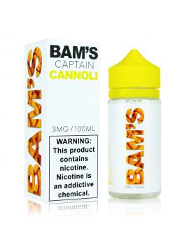 Bam's captain cannoli 100ml