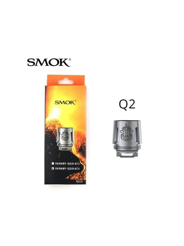 SMOK RESISTANCES Q2 DUAL 0.6 TFV8 BABY