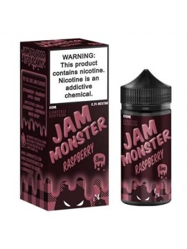 Jam Monster eJuice - Raspberry -100 ml